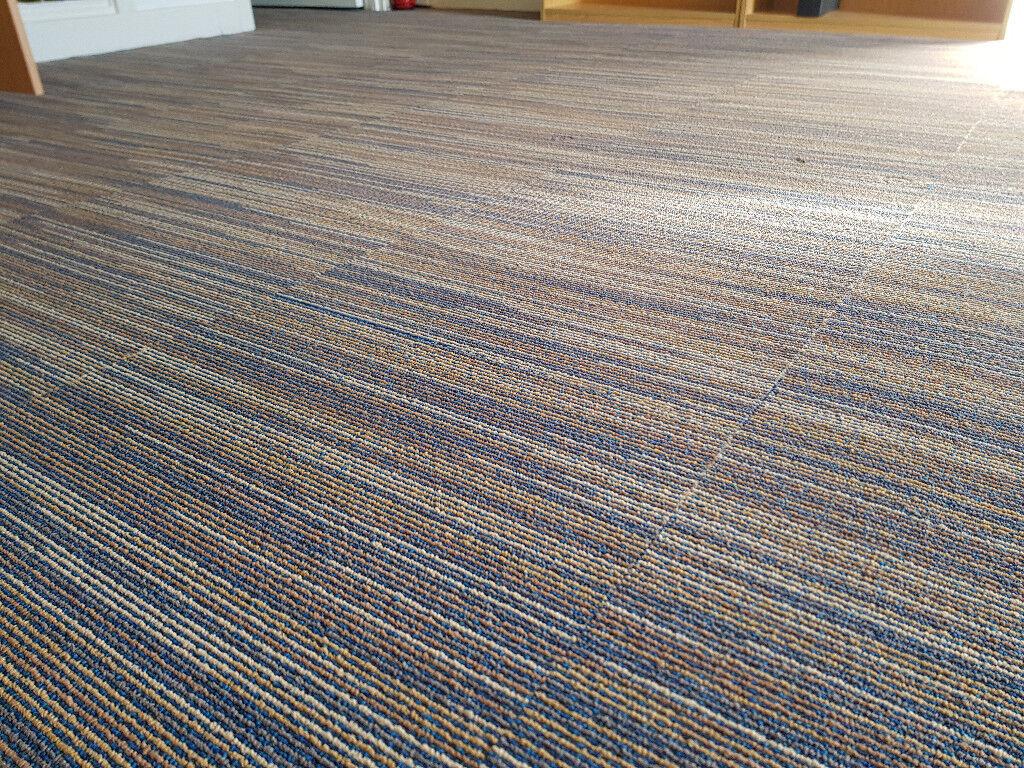 New Libra Line Carpet Tiles 10 Square Metres In Paignton