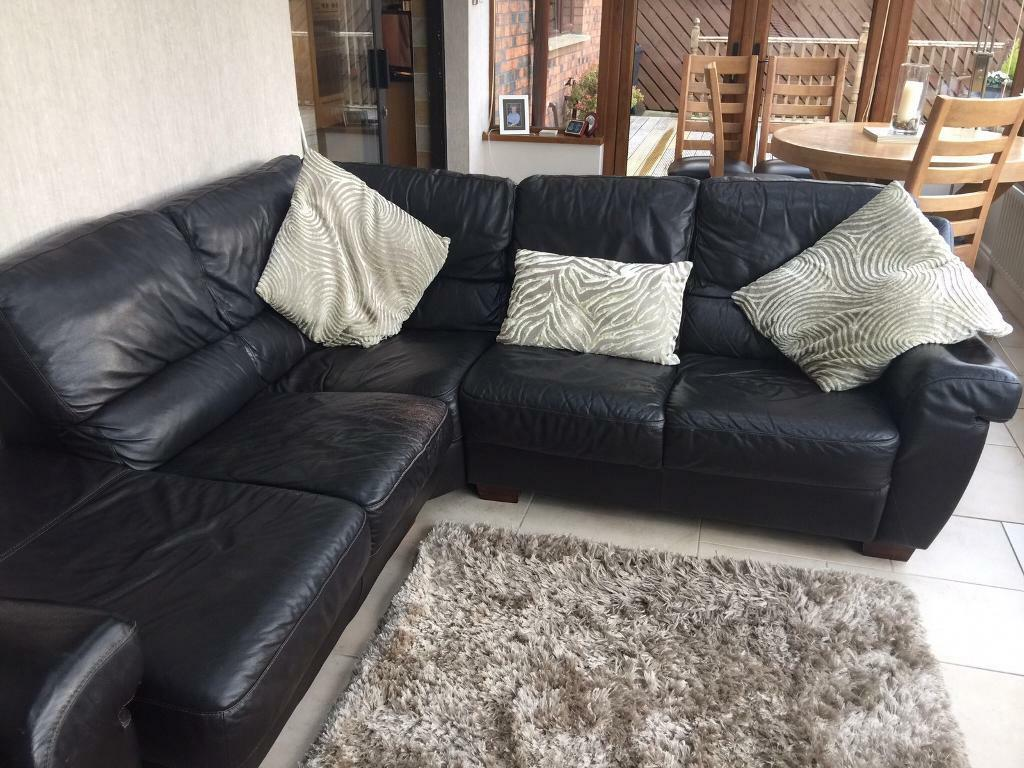 Grey Sofa Gumtree Belfast Corner Brown Leather Sofa Plus Additional Matching Two