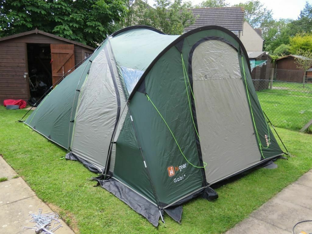 Hi Gear Gobi 4 Tent With Carpet And Footprint In East