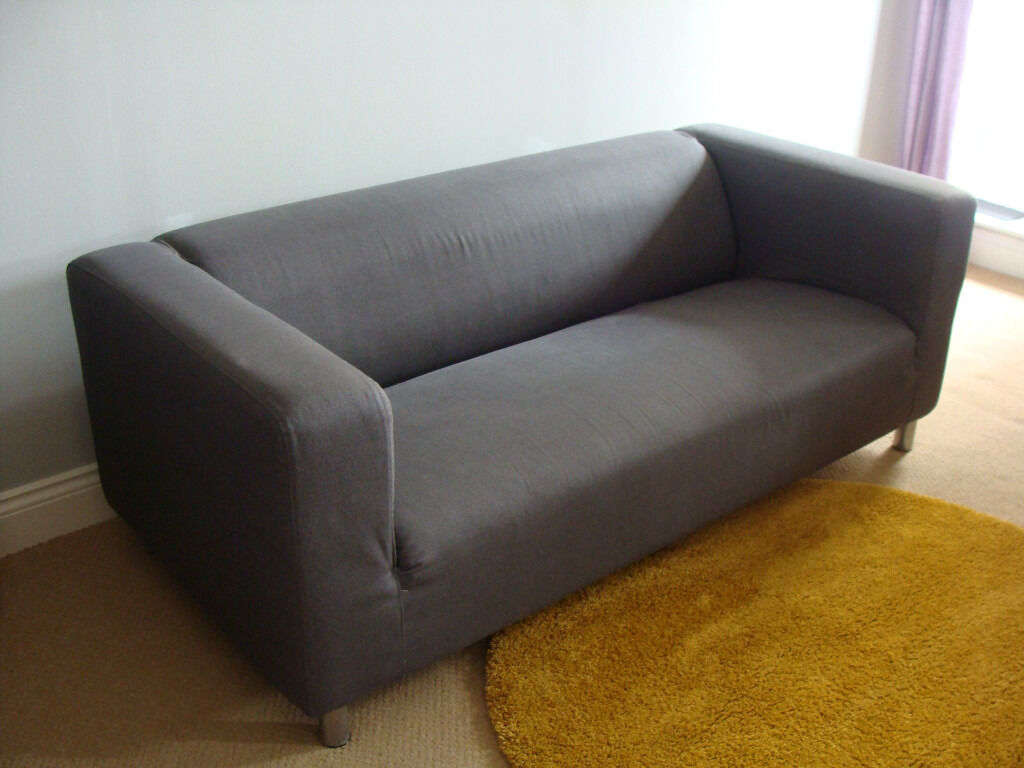Ikea Klippan Sofa Maße Ikea Klippan Two Seat Sofa For Sale With Dark Grey
