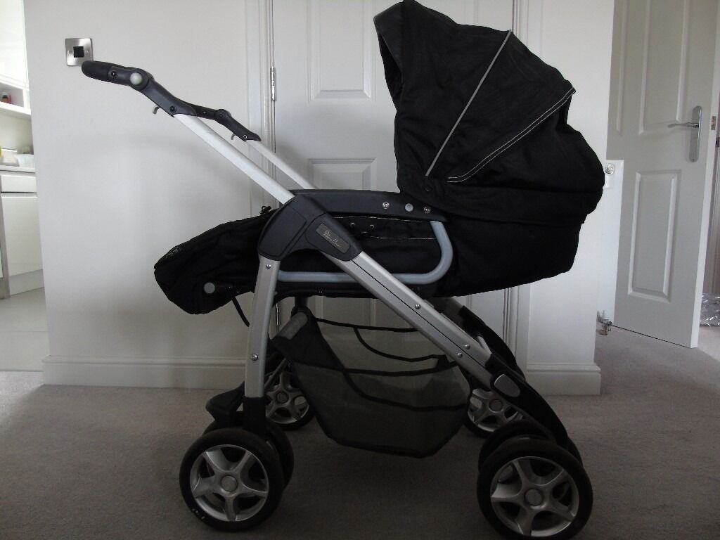 Silver Cross Linear Freeway Pushchair Silver Cross Freeway Pram Travel System With Matching Car
