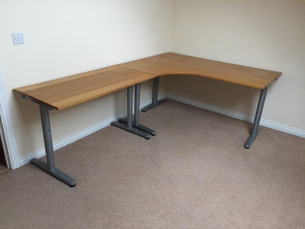 Ikea hoekbureau ikea kallax desk and shelving units including