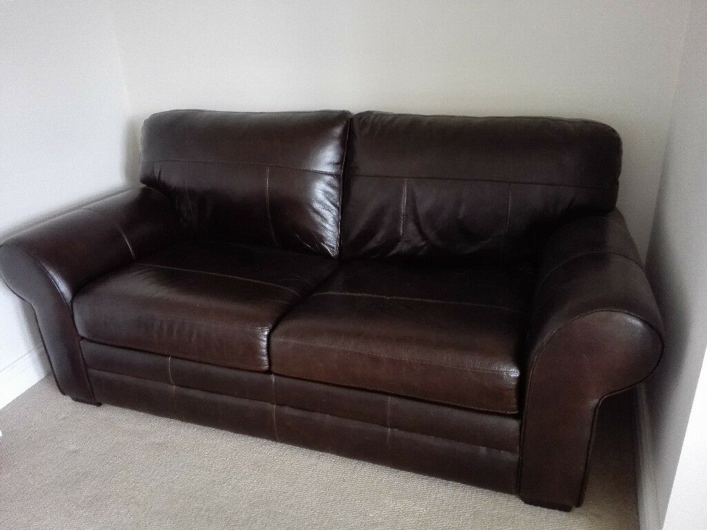 Dark Brown Couch Dark Brown Leather Sofa Bed Alluring Dark Brown Leather