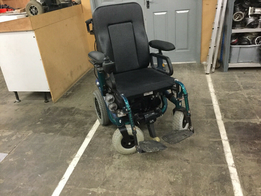 Quickie F55 Electric Wheelchair Lift Tilt Charger In