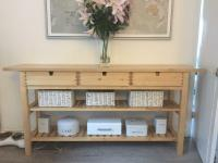IKEA NORDEN KITCHEN SIDE TABLE CONSOLE WITH DRAWERS | in ...