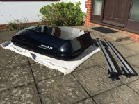 Exodus 470L Roof Box, with Thule Wing Bars and Feet to fit ...