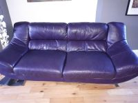 Purple Leather Sofas Beautiful Purple Leather Sofa