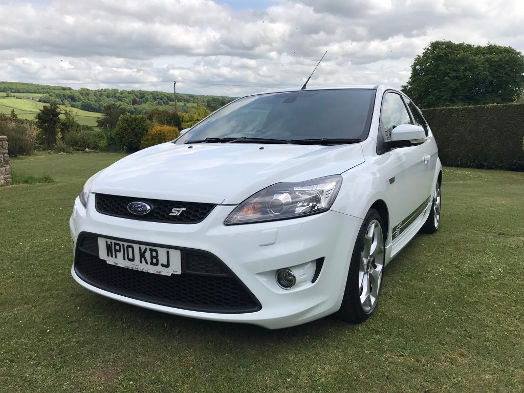 Ford Focus St White Ford Focus St 3 White 2010 Mint Condition12 Months Mot 1