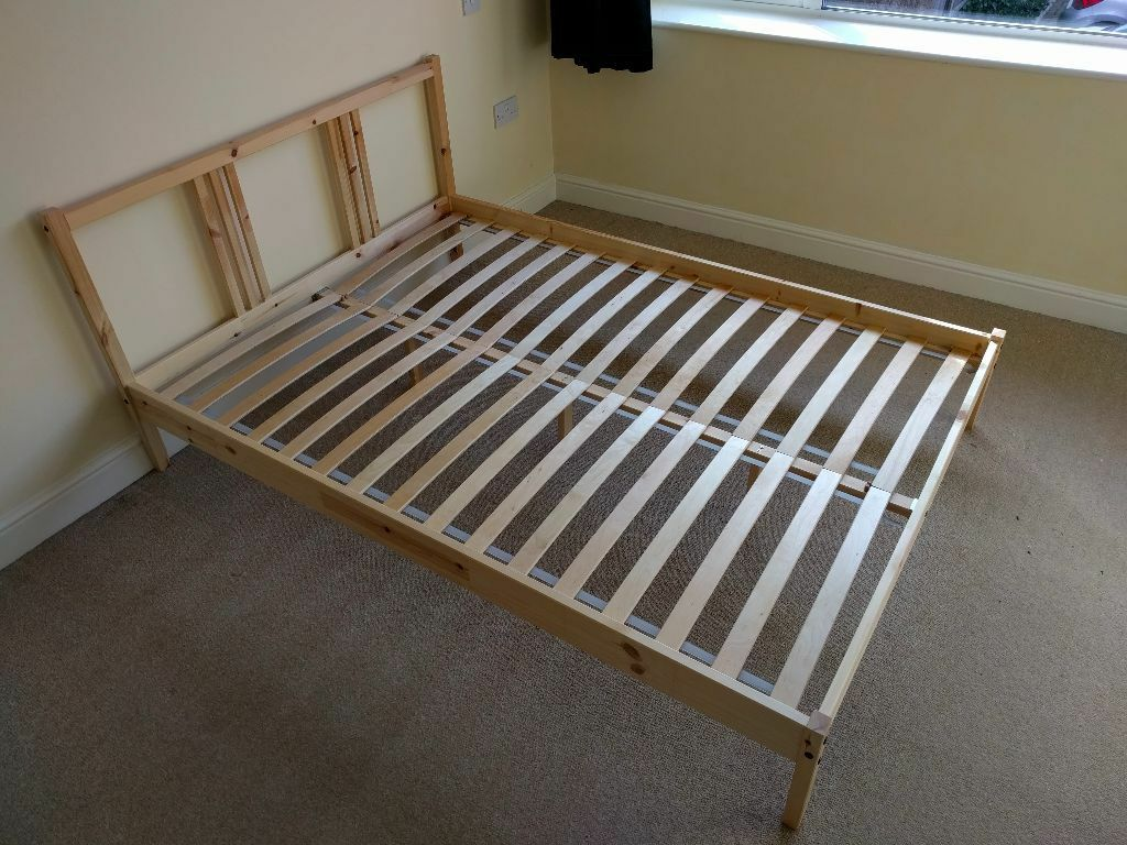 Ikea Bed Slats Beds Bed Frames Ikea Ikea Fjellse Bed Frame, Great Condition, With Slats | In