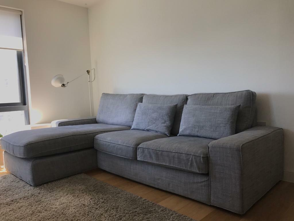 Ikea Sofas Chaise Longue Ikea Kivik Two Seater Sofa With Chaise Longue. | In