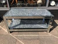 Mirrored Diamond Crush Large Coffee Table | in Leicester ...