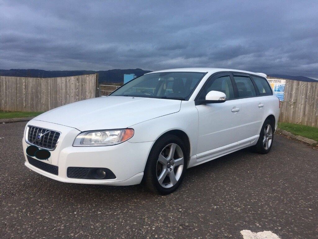 Volvo D5 Mpg Volvo V70 S D5 Diesel Manual In White 2009 59 Superb Mpg