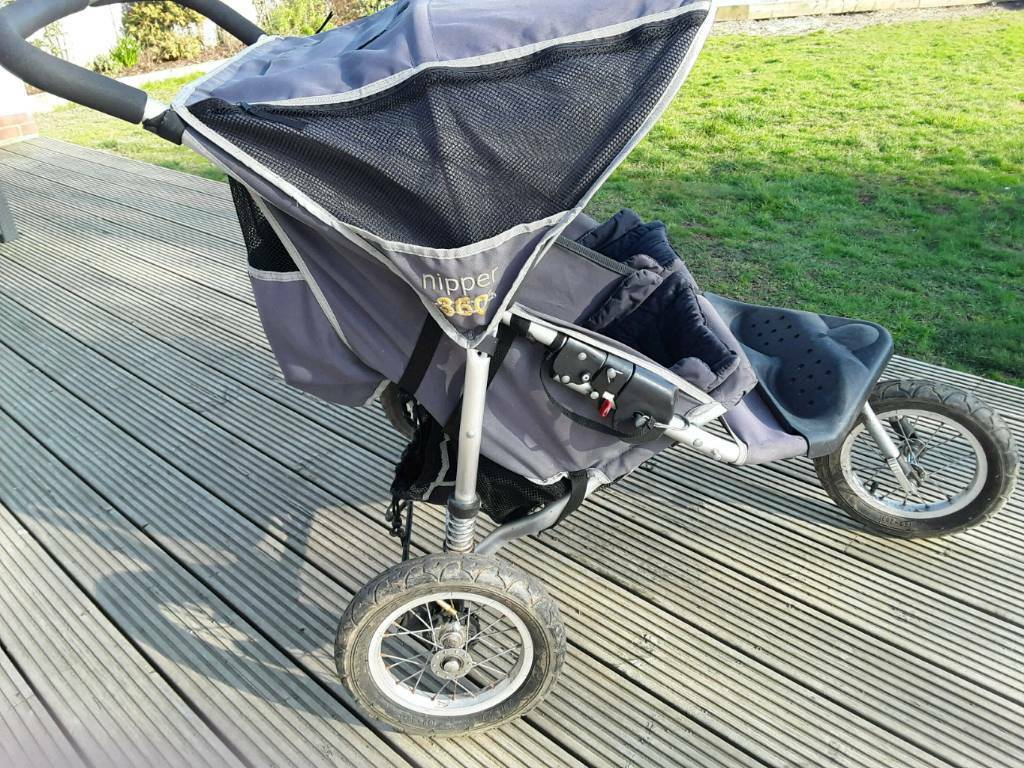 Silver Cross Pushchair Umbrella Out And About Nipper 360 Double Pushchair In Wimborne