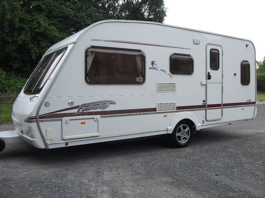 Caravan Mattress Prices 5 7 Berth Swift Fairway Caravan Full Awning And Bedroom