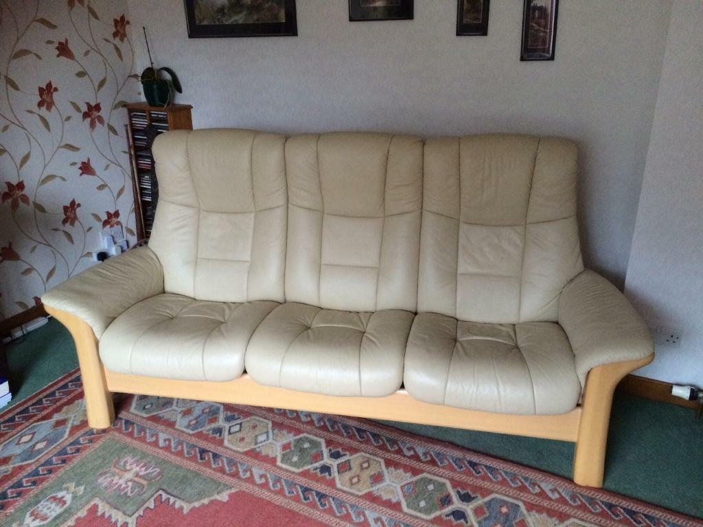 Ekornes Stressless Buckingham Sofa Stressless Leather 3 Seater High Buy Sale And Trade Ads