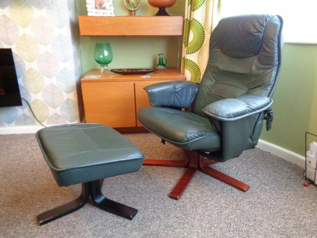 Leather Recliner Gumtree Glasgow Anderssons Of Sweden Leather Recliner Chair In Birstall