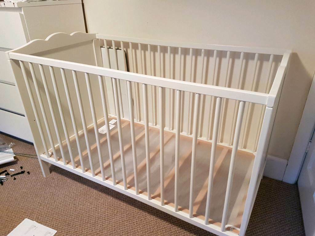 Ikea Cot Solgul In Poole Dorset Gumtree