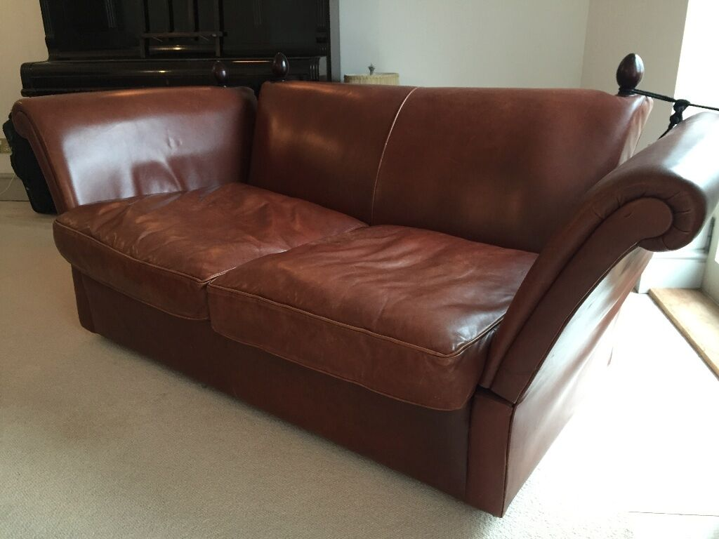 Laura Ashley Lancaster Colorado Brown Leather Small 2 ...