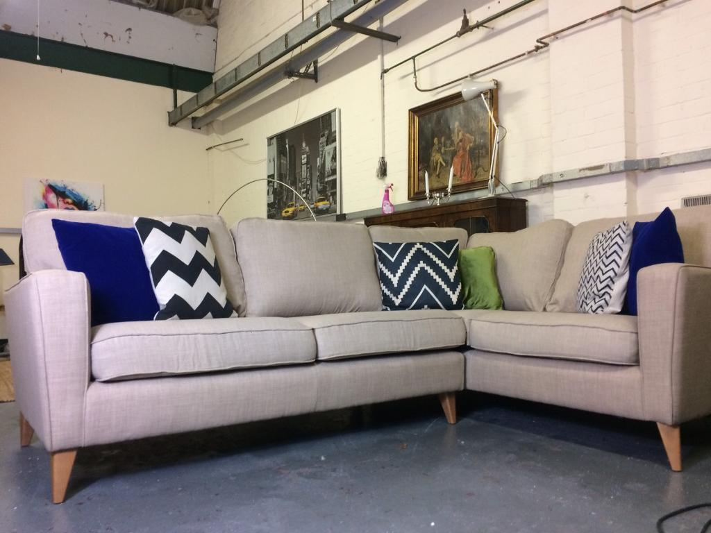 Retro Sofa Bristol Harvey 39s Cargo Opal Corner Sofa Rrp 1332 In Frenchay