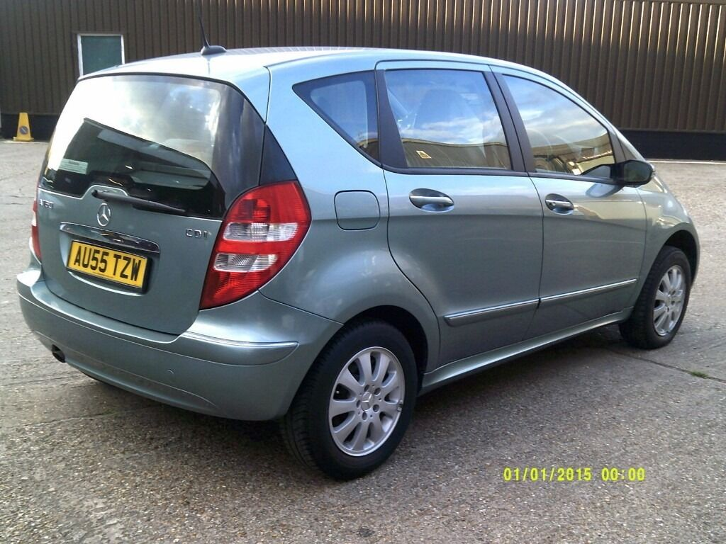 Mercedes A160 Mercedes A160 Cdi Cvt Elegance In Shepherds Bush London