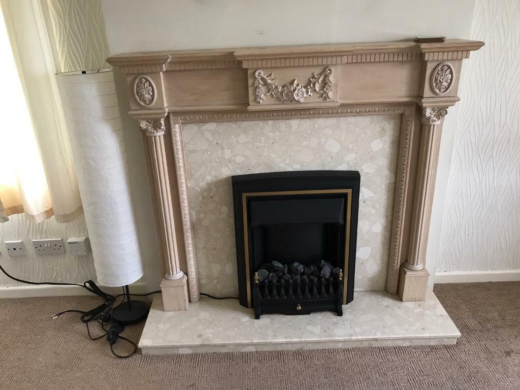 Electric Coal Fireplace Adams Style Fireplace Surround Marble With Electric Coal