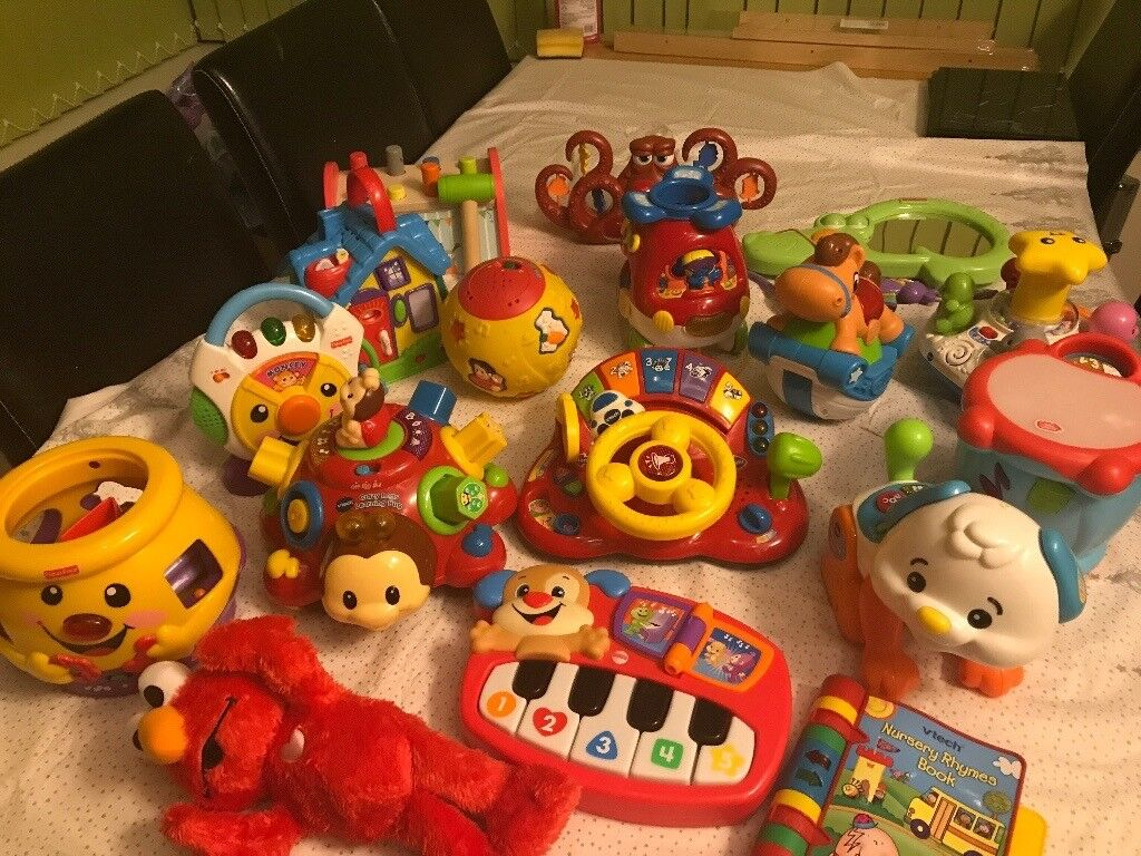 Baby Pram Glasgow Toddler Toy Bundle Vtech Fisher Price Leapfrog And More
