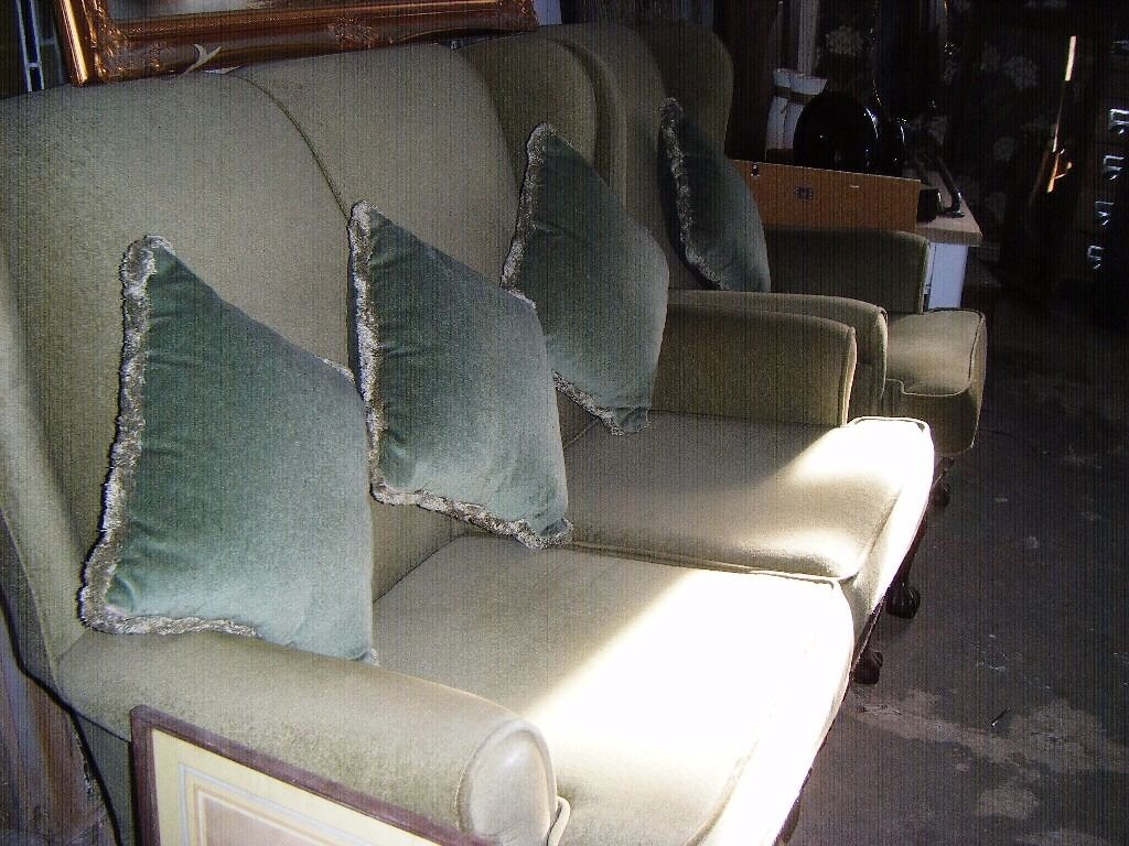 Two Seater Sofa And Matching Chair Shackleton Style In