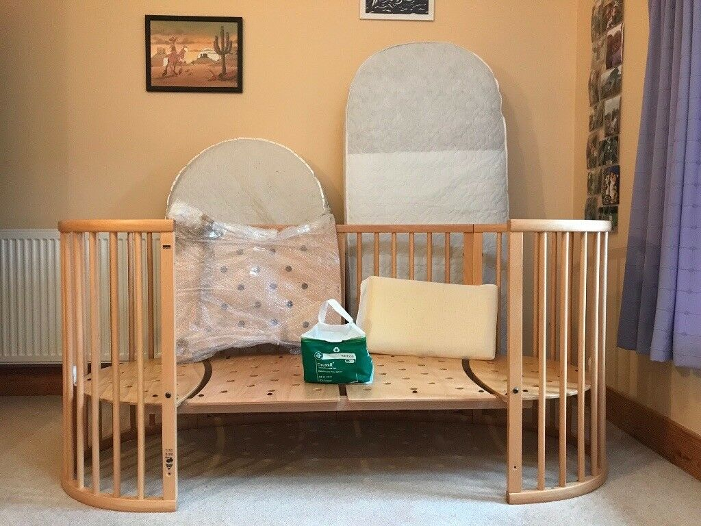 Baby Cots In South Africa Stokke Sleepi Baby Cot Bed With Junior Extension In
