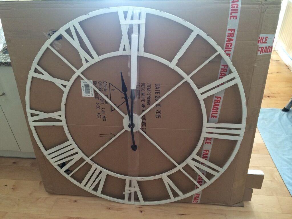 Large Vintage Wall Clocks For Sale
