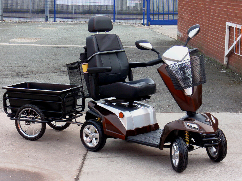 2017 Kymco Maxer 8mph Large Mobility Scooter Trailer