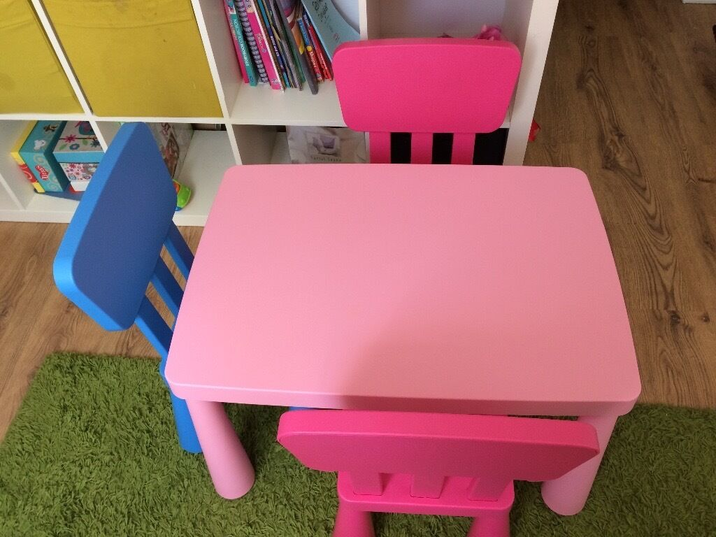 Mammut Children39s Plastic Table Chairs In Luton