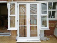 External french patio doors (7 feet by 6.8 feet) - VGC ...