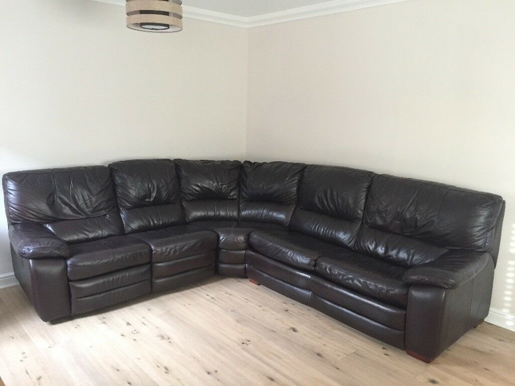 Sofa Beds Guildford Surrey Leather Corner Sofa Bed And Recliner | In Guildford
