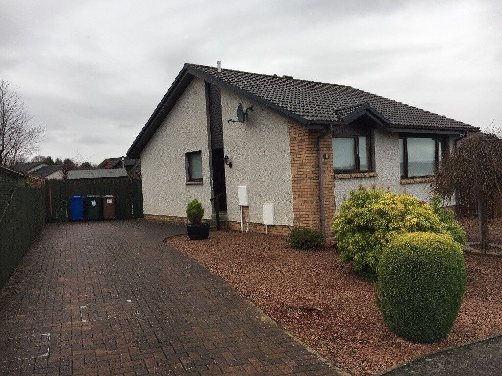 Patio Bungalow Vrijstaand Semi Detached Bungalow Cradlehall Inverness Closing