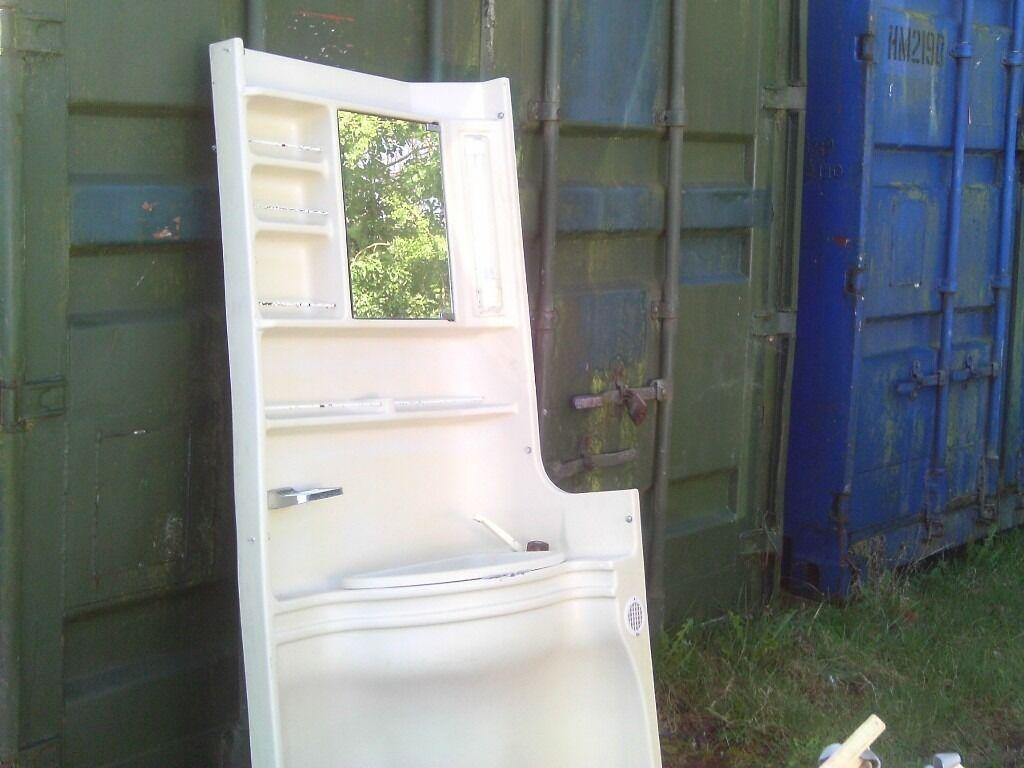 Caravan bathroom vanity unit