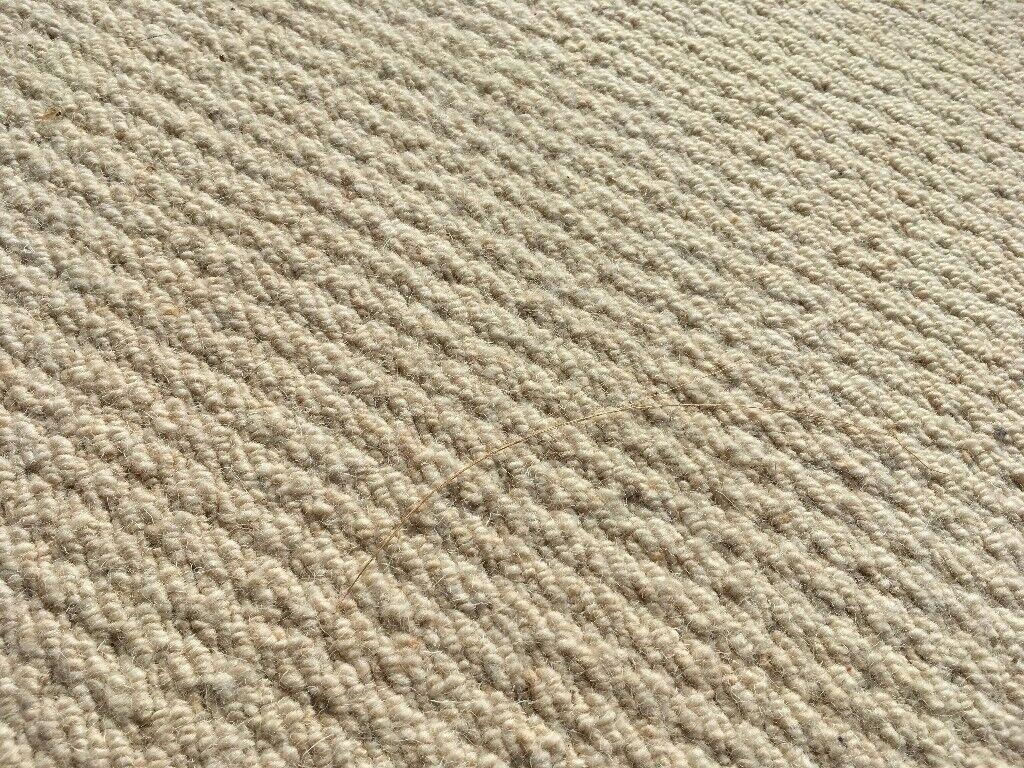 Neutral Beige Coloured Carpet For Bedroom 41 Metres X 3