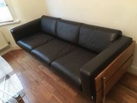 Stylish Habitat Days Forum 3-Seater Italian Leather Sofa ...
