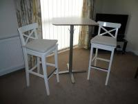 IKEA BAR STOOLS & BREAKFAST BAR TABLE ** EXCELLENT ...