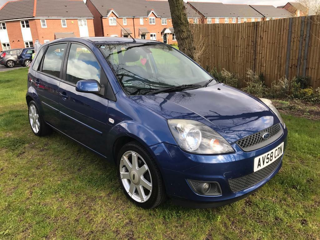 2008 Ford Fiesta Zetec 2008 58 Plate Ford Fiesta 1 25 Zetec Blue Limited Edition