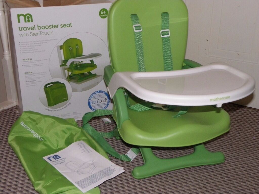 New Mothercare Travel Booster Seat Highchairlike Chicco
