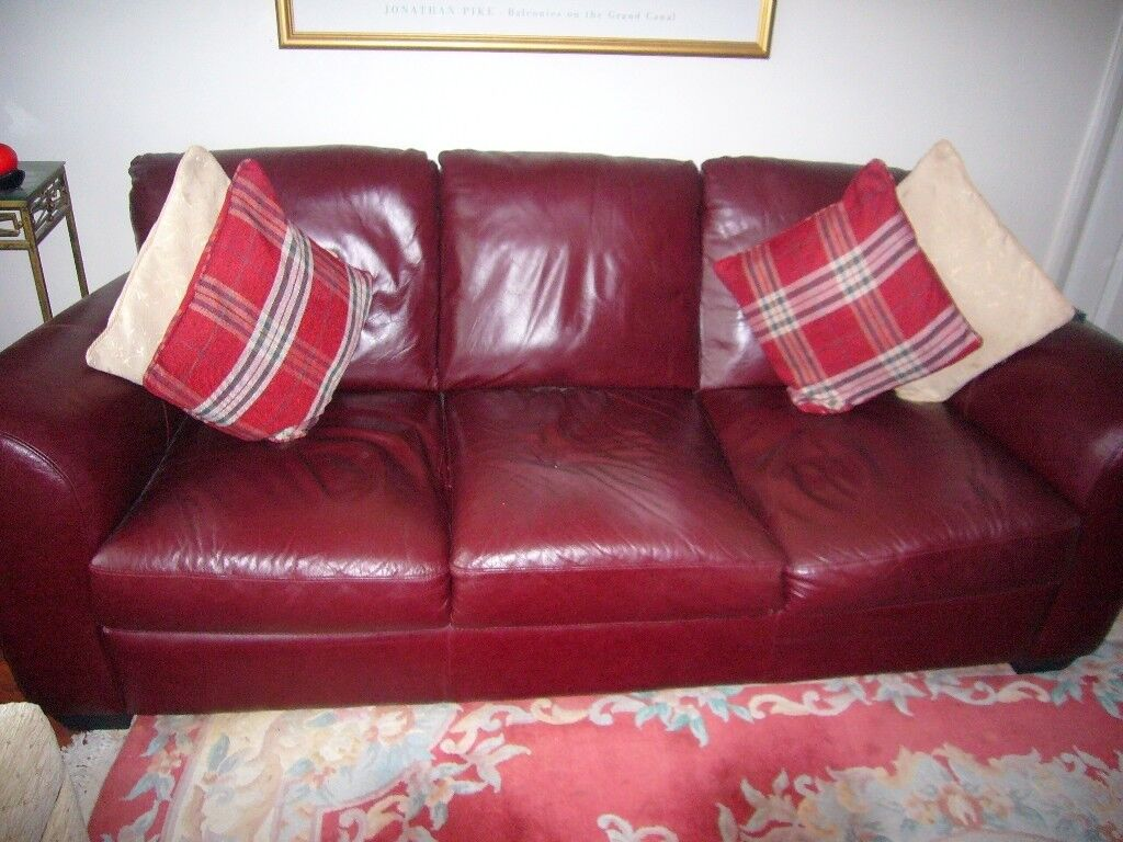 Leather Recliner Gumtree Glasgow Leather Sofa And Recliner Chair In Rumney Cardiff Gumtree