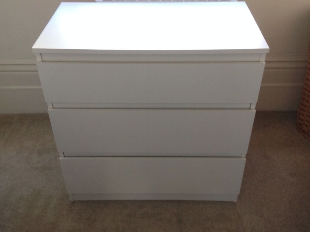 Kullen Ikea Chest Of 3 Draws - Ikea 'kullen' - Must Go | In Kilburn