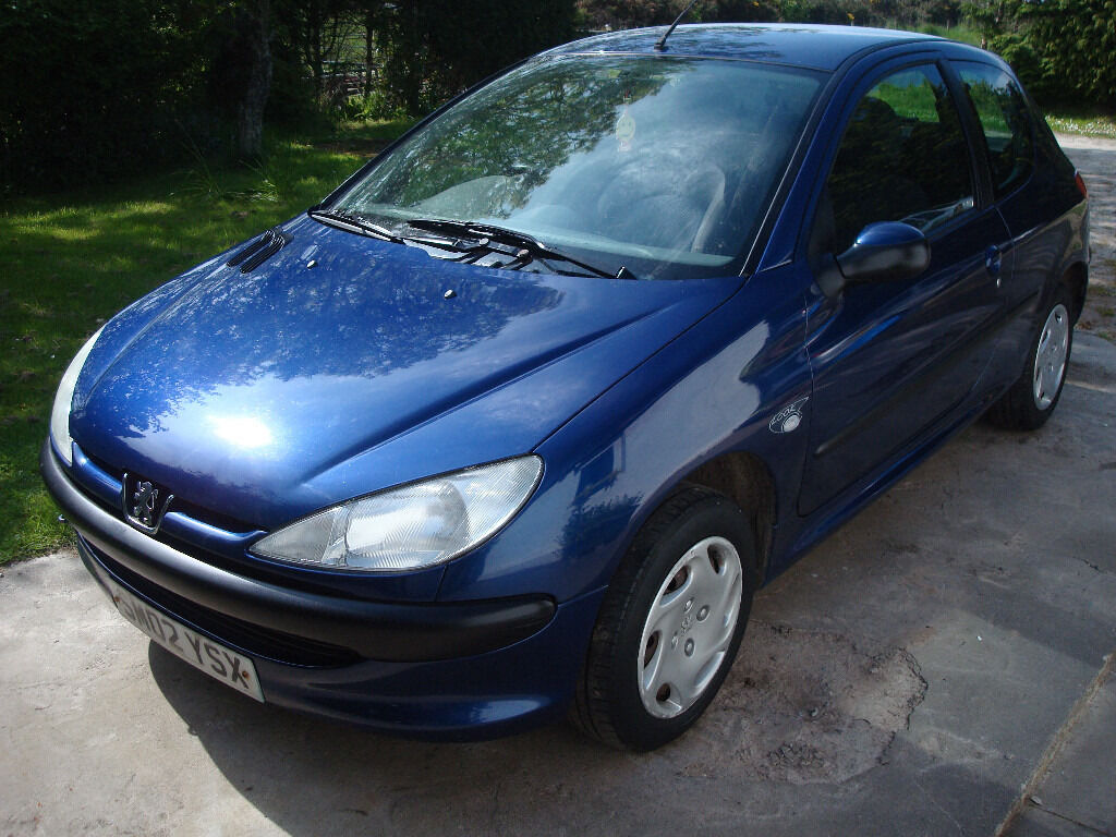 Peugeot First Car Peugeot 206 Look 1 4 2002 12months Mot Clean Tidy