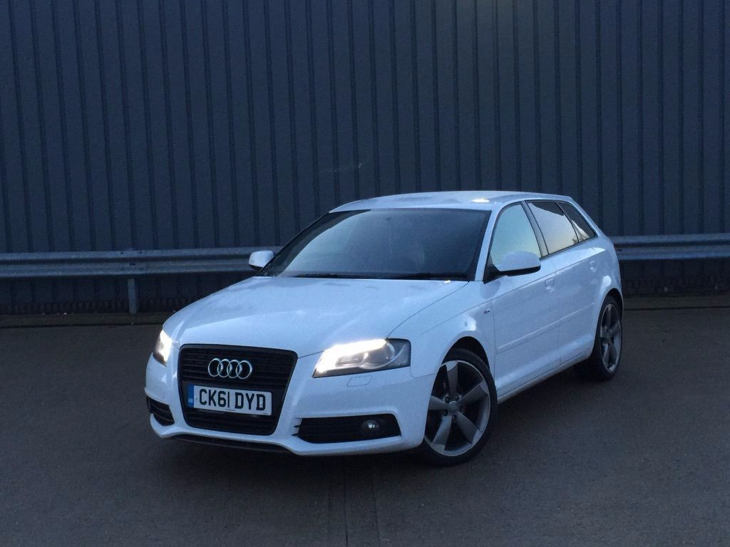 Audi A3 Led Verlichting 2011 61reg Audi A3 2 Tdi Black Edition Sportback White