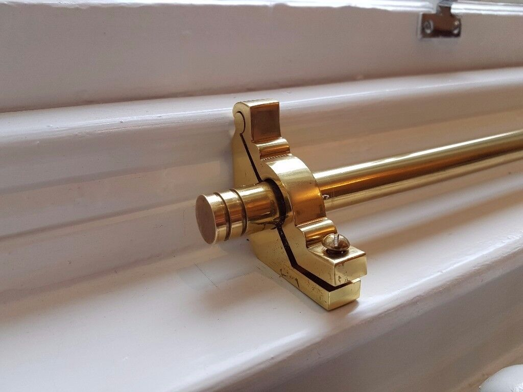 21 Solid Polished Brass Premier Runner Stair Rods For