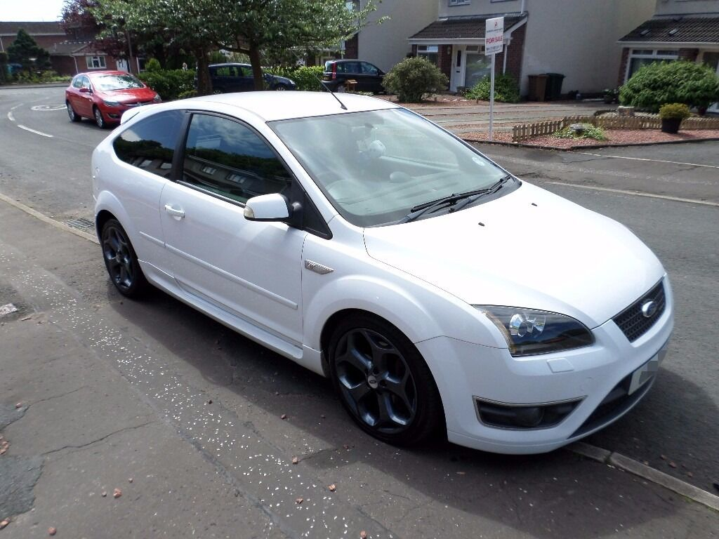 Ford Focus St White Ford Focus St 2 2007 Plate White Low Mileage 55 200
