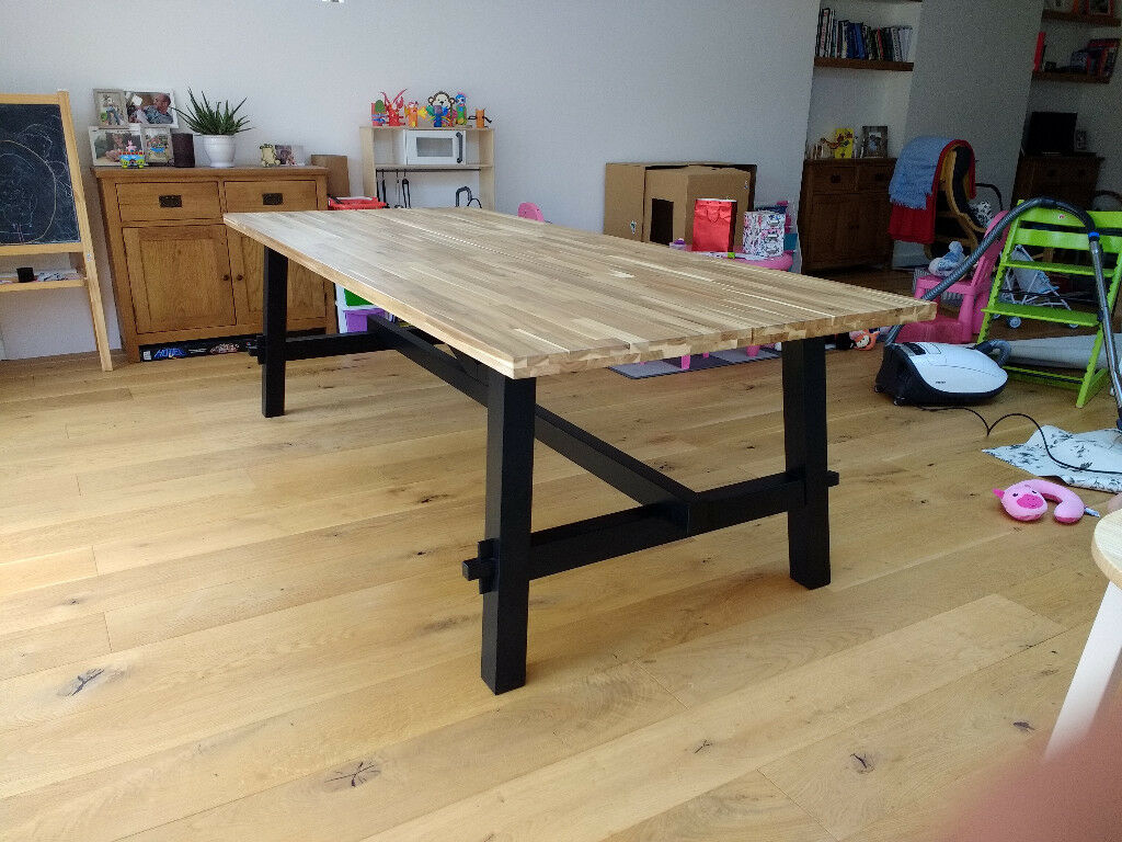 Japanese Dining Table For Sale Ikea Skogsta Table For Sale In Emsworth Hampshire Gumtree