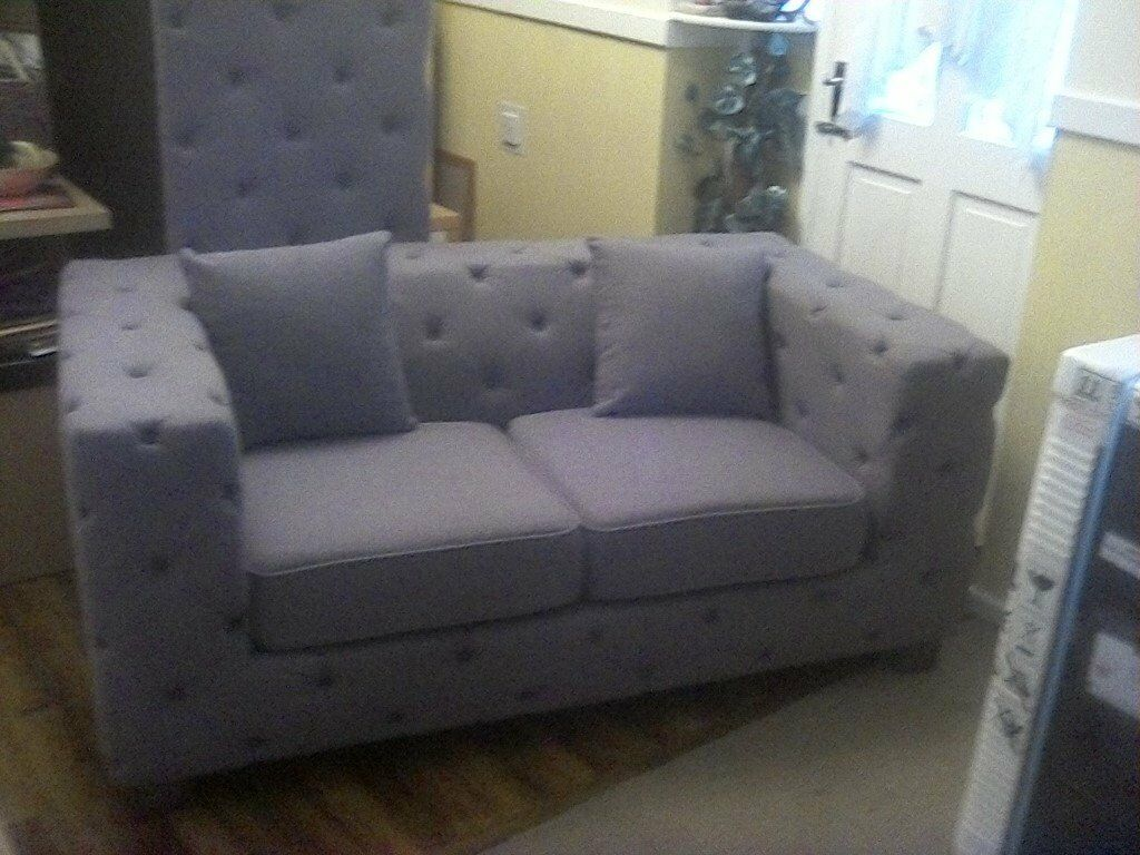 2 Seater Chesterfield Sofa Gumtree 2 X Two Seater Chesterfield Type Sofas In Liverpool