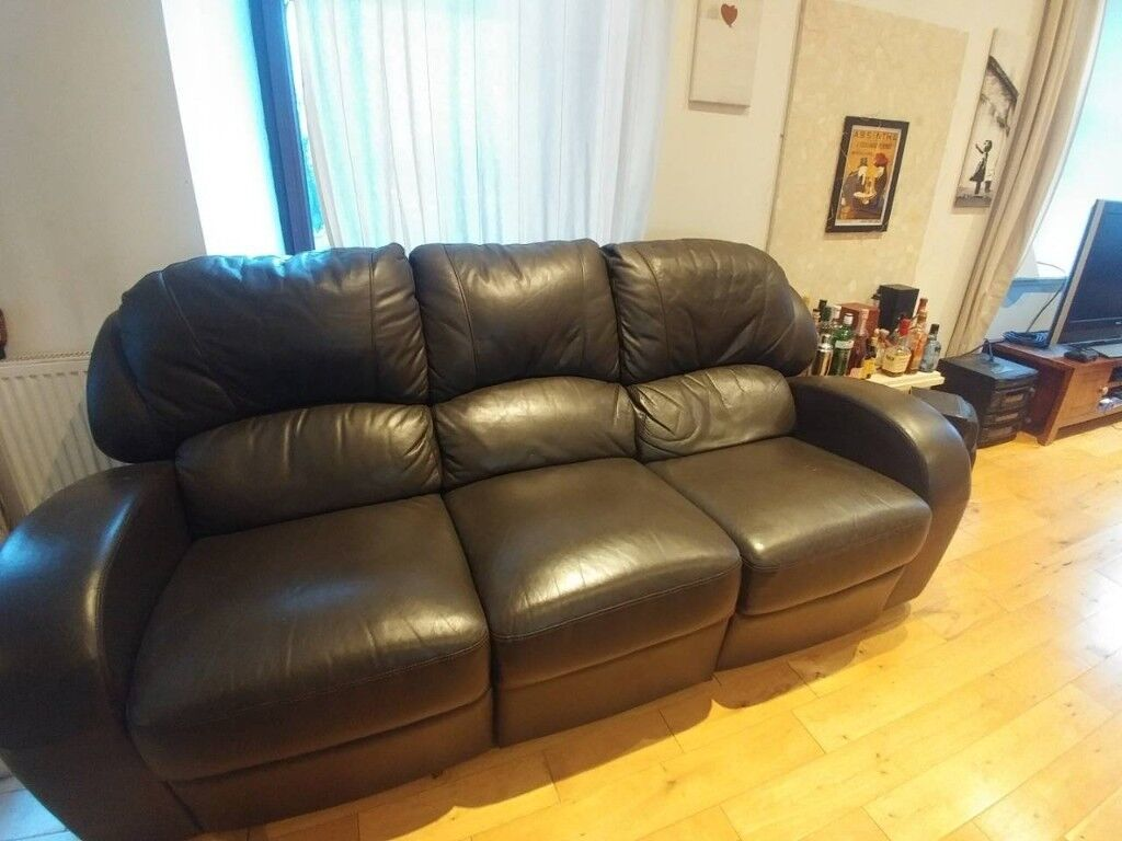 Leather Recliner Gumtree Glasgow Leather Recliner Sofa Great Condition And Price In