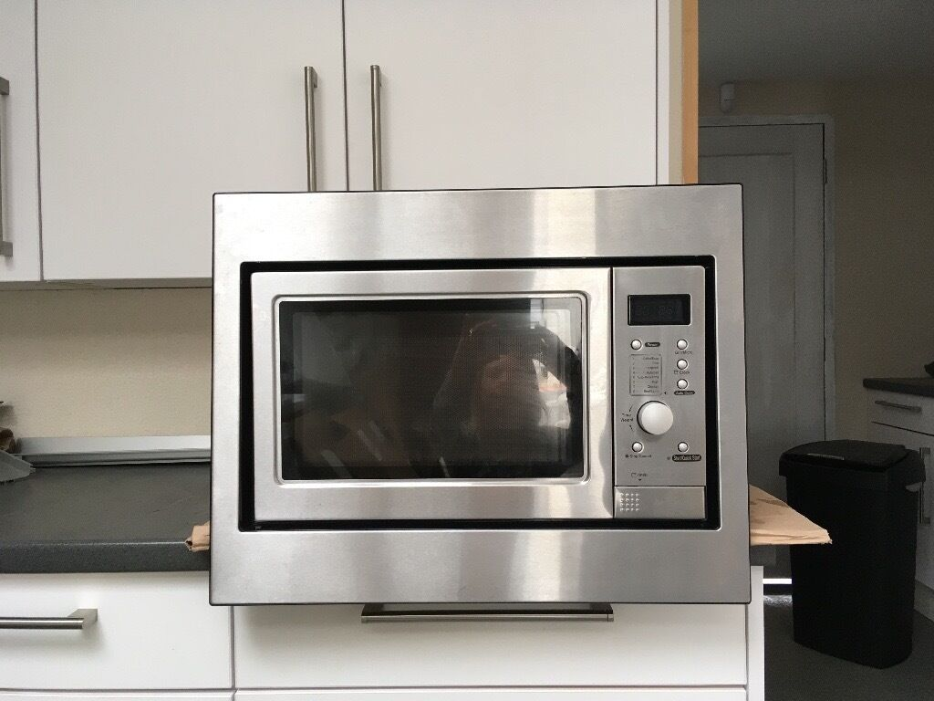 Integrated Microwave Howdens Lamona Integrated Microwave And Grill Very Good